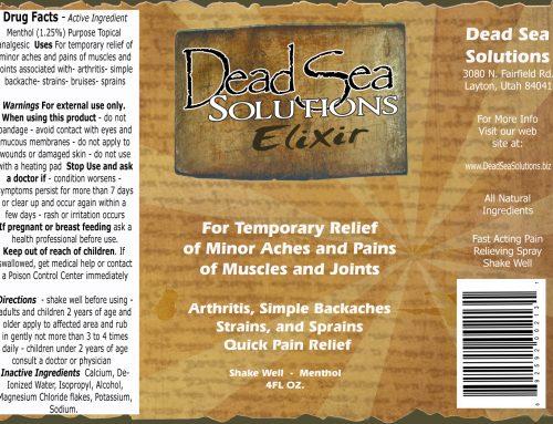 Dead Sea Elixir